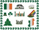Ireland Sampler - Cross Stitch Chart