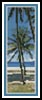 Island Bookmark - Cross Stitch Chart