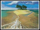 Island Painting - Cross Stitch Chart