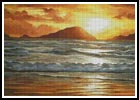 Island Sunset - Cross Stitch Chart