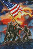 Iwo Jima Painting - Cross Stitch Chart