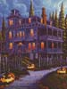 Jack-o-Lantern Lane (Crop 1) - Cross Stitch Chart