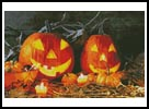Jack O' Lanterns - Cross Stitch Chart