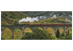 Jacobite Steam Train - Cross Stitch Chart