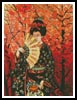 Japanese Lady 4 - Cross Stitch Chart