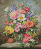 June Flowers in Radiance - Cross Stitch Chart