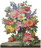 June Flowers in Radiance (No Background) - Cross Stitch Chart