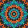 Kaleidoscope 4 (Crop) - Cross Stitch Chart