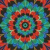 Kaleidoscope 5 (Crop) - Cross Stitch Chart