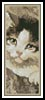 Kitten Bookmark - Cross Stitch Chart