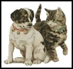 Kitten Puppy - Cross Stitch Chart