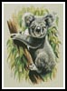Koala - Cross Stitch Chart
