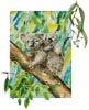 Koala Painting - Cross Stitch Chart