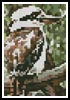 Kookaburra Card - Cross Stitch Chart