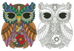 Kurby Owl - Cross Stitch Chart