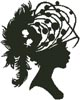 Lady Silhouette 10 - Cross Stitch Chart