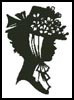 Lady Silhouette 2 - Cross Stitch Chart