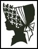 Lady Silhouette 3 - Cross Stitch Chart