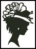 Lady Silhouette 7 - Cross Stitch Chart