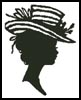 Lady Silhouette 8 - Cross Stitch Chart