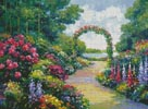 Lakeside Arbor - Cross Stitch Chart