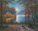 Lakeside Dreams (Large) - Cross Stitch Chart