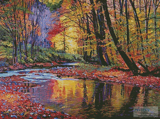 Autumn Prelude - Cross Stitch Chart - Click Image to Close