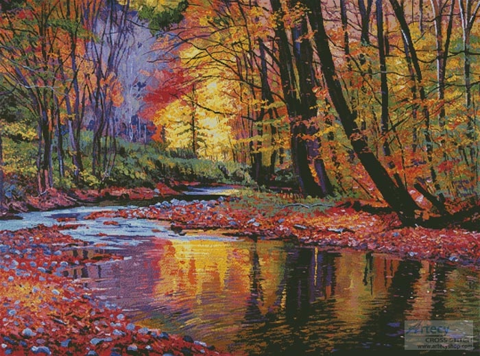 Autumn Prelude (Large) - Cross Stitch Chart - Click Image to Close
