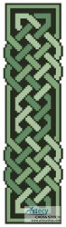 Celtic Bookmark 10 - Cross Stitch Chart - Click Image to Close