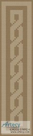 Celtic Bookmark 3 - Cross Stitch Chart - Click Image to Close