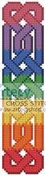 Celtic Bookmark 8 - Cross Stitch Chart - Click Image to Close