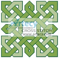 Celtic Chart 3 - Cross Stitch Chart - Click Image to Close