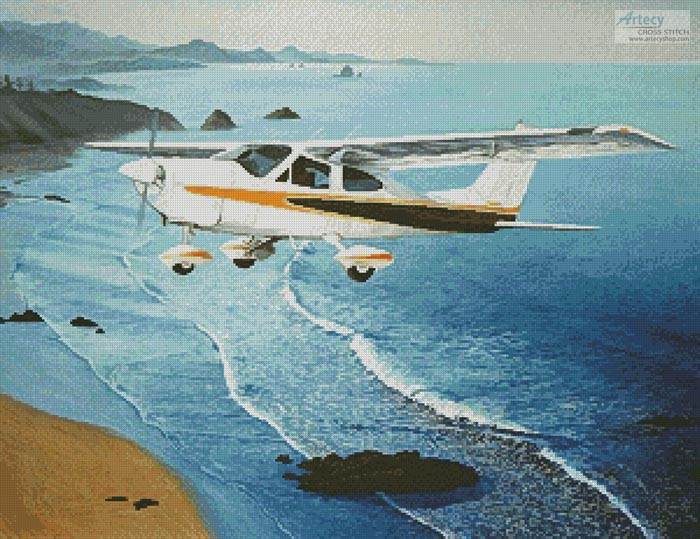 Cessna - Cross Stitch Chart - Click Image to Close