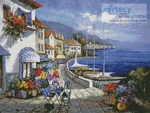 European Memories - Cross Stitch Chart - Click Image to Close