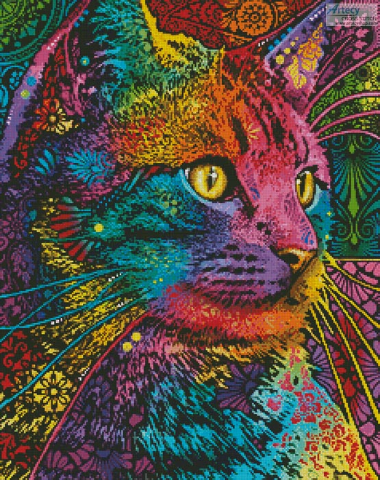 Felis - Cross Stitch Chart - Click Image to Close