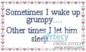 Grumpy - Cross Stitch Chart - Click Image to Close