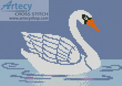 Little Swan - Cross Stitch Chart - Click Image to Close