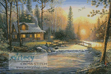 Mystic Hour - Cross Stitch Chart - Click Image to Close