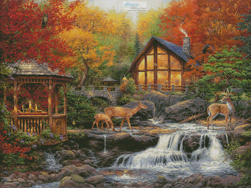 The Colors of Life (Large) - Cross Stitch Chart - Click Image to Close