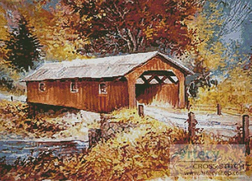 The Road Home - Cross Stitch Chart - Click Image to Close