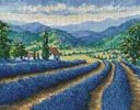 Lavender Field - Cross Stitch Chart