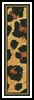 Leopard Bookmark - Cross Stitch Chart