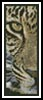Leopard Close Up Bookmark - Cross Stitch Chart