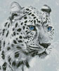 Leopard in Snow - Cross Stitch Chart