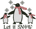 Let it Snow - Cross Stitch Chart