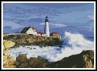 Lighthouse 3 - Cross Stitch Chart