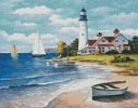 Lighthouse Bay - Cross Stitch Chart