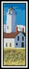 Lighthouse Bookmark - Cross Stitch Chart