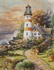 Lighthouse Cottage - Cross Stitch Chart