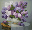 Lilac Romance - Cross Stitch Chart